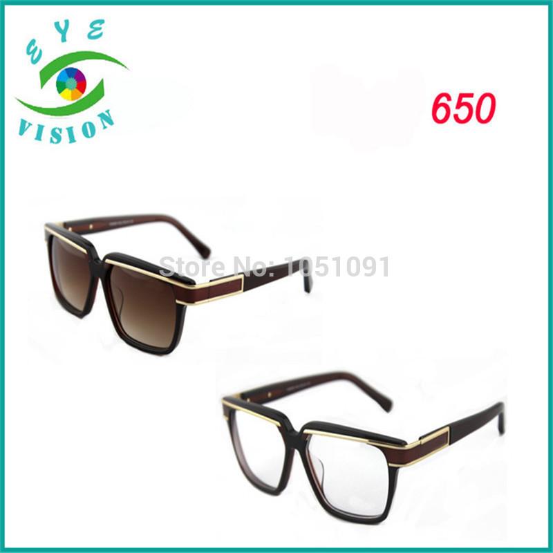 Germany Top brand designer Sunglasses Cazal sunglasses Cazal 650 vintage design acetate gradient lens sun glasses for Men(China (Mainland))