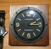 Free shipping Teakwood Table Clock PAM255 teak wooden 2 year warranty