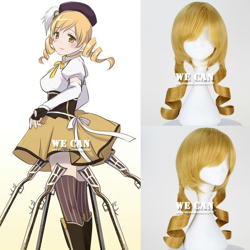 Парик косплей Wecan Puella Madoka Magica Cos C132 аксессуары для косплея cosplay wig cosplay cos cos