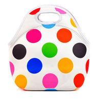 5pcs/lot thermal bag handbags 2014 bolsa de franja 100% neoprene lunch bag lunchbox bolsa termica for women food bag with zipper