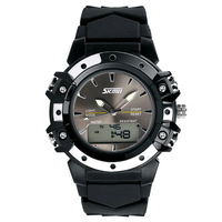 New Fashion Casual Multifunction Rubber Led Digital ladies dive swim Watch men women Sports Watches 30M military watches