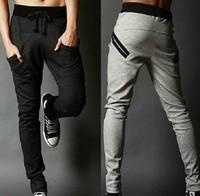 Hot Sale Men's Halen Pants Korean Sports Pants Casual Slacks Pocket Design Harem Baggy Sweatpants Skinny Trousers Drop shipping