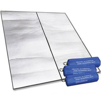 Outdoor camping folding beach picnic mat moisture pad 200 * 200 double-sided aluminum  moisture cushion