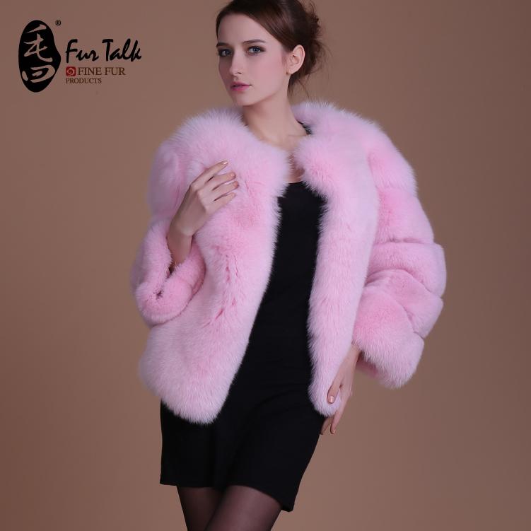 Женская одежда из меха Fur Talk , F011 fur coat