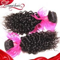 Peruvian Virgin Hair Weaves 4PCS Lot Peruvian Curly Hair Extensions Virgin Peruvian Hair Xuchang Longqi Hair LQPJC003