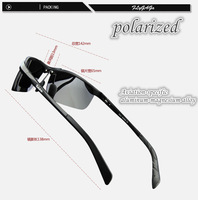 2014 NEW polarized sunglasses male night vision glass sports driving mirror sun glasses for brand RB coating sunglasses