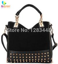 2014hot selling  Fashion PU Women Messenger Bags women Leather Handbags women's hand bag Shoulder bag wholesale(China (Mainland))