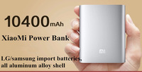 Hot Sale 1pcs 100% Original and Sealed Portable Xiaomi Power Bank 10400mAh For Xiaomi M2 M2A M2S M3 Red Rice mobile phone