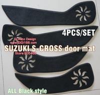 NEW Arrival!for suzuki sx4 s-cross accessory USEFUL DOOR PROTECTOR MAT DOOR PANEL 4P 3OPTINON DECORATION NEW ARRIVAL 2014