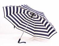2014 free shipping fashion navy pinstripes automatic umbrella lovely gift umbrella Rechar010