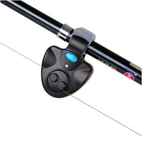 New Outdoor Electronic Fishing Alarms Fish Bite Alarm Finder Sound Alert Running LED Clip on Fishing Rod