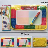 Water Drawing Toys Mat Aquadoodle Mat&1 Magic Pen/Water Drawing Painting Writing Board/Baby Play Mat Learning&Education,29X19cm