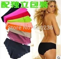 New Quality Briefs Top DuPont Seamless Girls undies Sexy Panties Women Underwear Lingerie Tanga knickers S M L 80pcs/lot