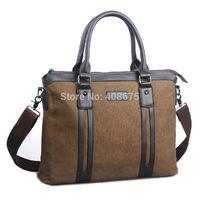 New Arrival canvas bag, commercial document laptop tote, vintage male fashion messenger bag, high quality briefcase men canvas