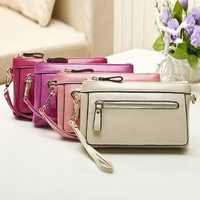 2014  Women   Leather Handbags Oil Wax Genuine Leather Chain Shoulder Bag Ladies Small Day Clutch Bags,CN-1404