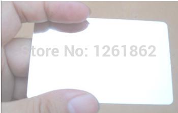 pvc card printing / plastic mirror business cards(China (Mainland))