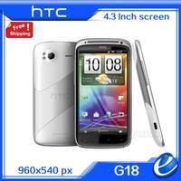 "Android 2.3 Original HTC Sensation XE G18 Unlocked Dual-core 1.5GHz 16GB 4.3"" SLCD Screen 3G GPS WIFI Mobile phone Refurbished"