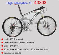 High-end configuration LOOK BIKE 26ER COMPLETE mountain mtb bike look 986 with M980 groupset carbon fiber mtb bike