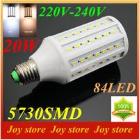 20W,5730 SMD,LED Lamps Bulb,E27 B22 E14,220V,230V,240V,Cold White/Warm white,84 LED,Corn Light Bulb,Ultra bright spot lights