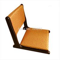 (2pcs/ lot)  japanese furniture shop zaisu  floor wooden folding chair no legs