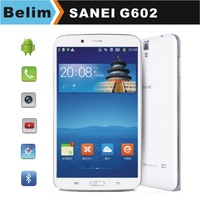 Free Shipping Sanei G602 6.2inch Tablet PC Quadcore 3G MTK8382 512M 8G Bluetooth 4.0 GPS Support 1080P Video playing