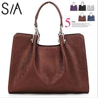 2014 women handbag genuine leather Fashion women bags handbags designers brand women's leather handbag New women messenger bag