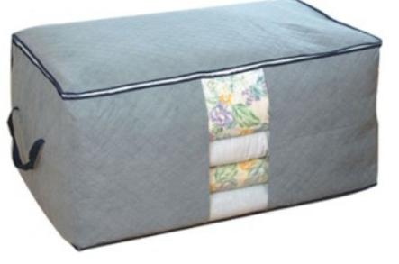 free shipping Storage Boxes Bins non woven fabric Bamboo clothes Storage box Organizer bag ZNU031(China (Mainland))