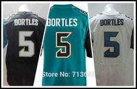 American Football Jerseys 2014 Draft Jacksonville #5 Blake Bortles Sports Jersey,Embroidery Logo,Free Shipping,Accept Mix Order