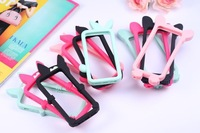 For iPhone5 5S 5C Bumper Frame TPU Case 3D katie olive pickles animals Soft Silicone Skin cover For iphone5s With Retail Package