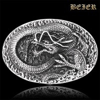 Super Cool High Quality 316L Stainless Steeel Man's Dragon Belt Buckle Free Shipping PDK012