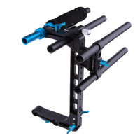 Fotga DP500 C-shape cage bracket support for 15mm rod rail road DSLR rig follow focus