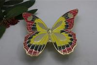 2pcs colour  butterfly handles big wardrobe cabinets shoe children kids door shake high grade shake colours zinc alloy