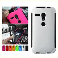 Wholesale 10pcs/lot Heavy Duty ShockProof case cover for Motorola Moto G XT937C XT1031 XT1032 XT1028 with PET screen protector
