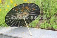 (20 pcs/lot) 2014 New Handmade 30 Inches Solid Color Polyester Parasols Ladies Umbrella