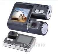 Free Shipping 2.0 Inch IR Full 480P Vehicle Dashboard Car DVR Video Camera Recorder  Motion Detection G-sensor