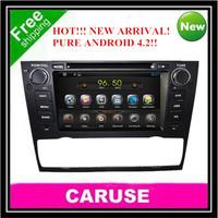 Latest Pure Android 4.2 Capacitive screen car dvd player for bmw E90 E91 E92  E93 (2005-2012) built in WIFI
