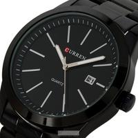 Curren 8091 Quartz Stainless steel Vogue Business Military Man Men's watches waterproof Drop shipping, Brand watch Relogio