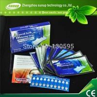 (14 pouches / bag) Mini favor advanced non peroxide teeth whitening strips, tooth whitening non peroxide strips