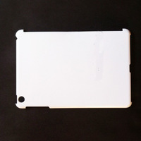 Free shipping 10pcs/bag 3D sublimation heat transfer white blank case cover DIY blank case for Ipad 2/3/4 10pcs/bag