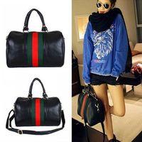 NEW Hobo Fashion Girl Boston Tote PU leather Lady Casual Handbag Shoulder Bag