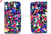 Wallet Leather Flip Card Slot Cover Case For Samsung Galaxy S3 i9300 S3mini i8190 S4 i9500 S4mini  i9190 S5 i9600 Note 3 N9000
