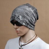 New Cotton turban cap fashion skullies hat men
