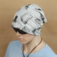 British cotton turban cap