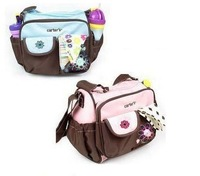 2014 new free shipping retail baby nappy bag  multifunction mother bag small mummy bag
