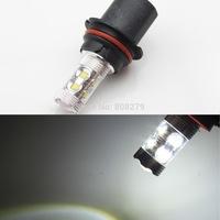 2pcs / Set HB1 9004 High/Low Power 12 LED 60W Foglight fog Light DRL Bulb White 6000K 12V 24V