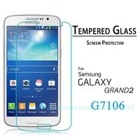 Premium Tempered Glass Screen Protector For Samsung Galaxy Grand 2 G7106 Explosion-proof Protective Film 2014 New Free shipping