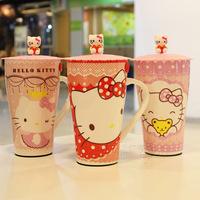2014 NEW ARRIVAL Free Shipping Max Mug Ceramic Cup He*llo Kitty Cartoon Cup Creative Mug