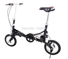 2014  New Fashion Mini  Bicycle  12 Carbon Steel Frame Folding Bike Bicicleta BMX Bike for women and Man  Soft Tail Suspension(China (Mainland))