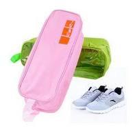 5pcs/lot Oxford fabric travel transparent shoe portable travel shoe bag waterproof storage bags travel storage bag