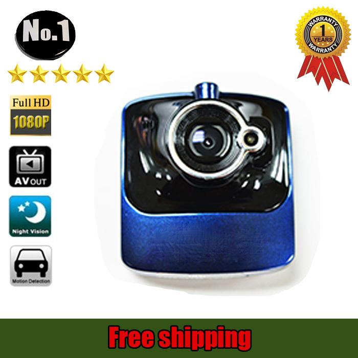 [NO LOGO ]  h1 car  camera dvr recorder ,Super wide angle, full hd 1920*1080p ,night vision ,free shipping(China (Mainland))